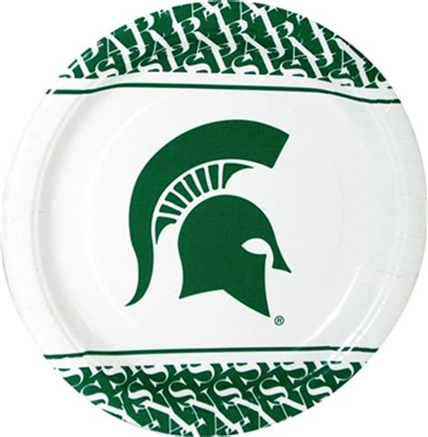 Cdt state college paper plates
